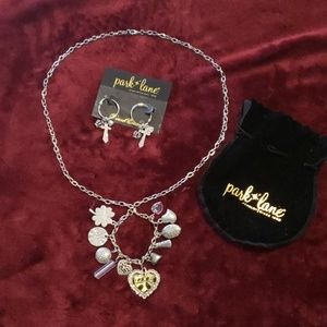 Park Lane Charm Necklace and Earring Set